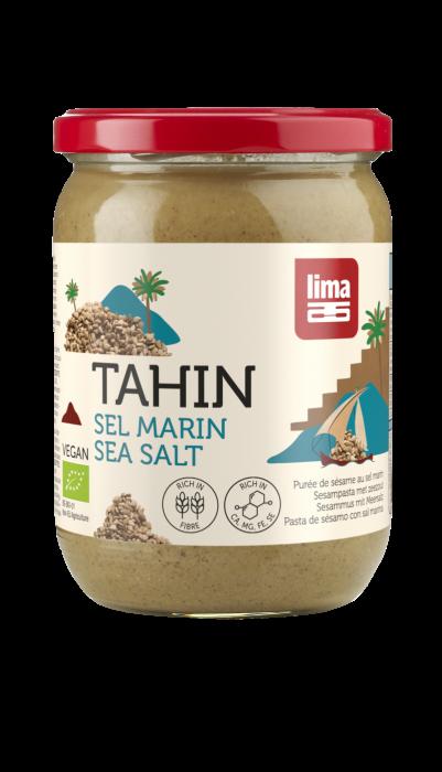 Tahini din susan integral cu sare de mare bio 500g Lima [0]