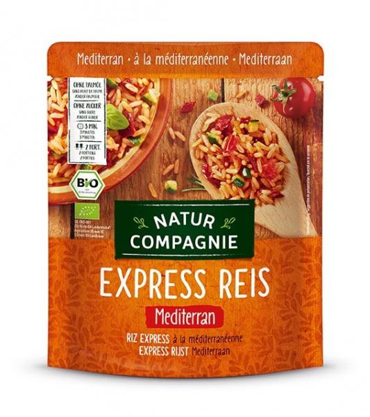 Mancare BIO de orez in stil mediteranean, Express Reis, 250 g Natur Compagnie [0]