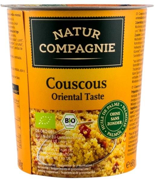 Mancare bio la pahar Cuscus gust oriental NATUR COMPAGNIE [0]
