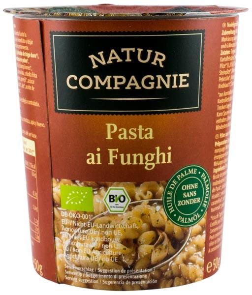 Mancare la cana - Paste cu ciuperci, BIO NATUR COMPAGNIE 0