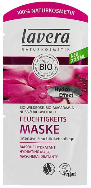 Masca de hidratare intensiva maces bio, nuci de macadamia bio si avocado bio, 2x5 ml Lavera 0