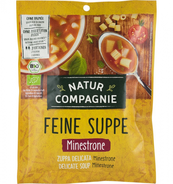 Minestrone, supa bio, 50g NATUR COMPAGNIE 0