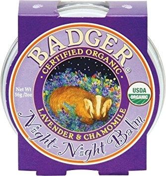 Mini balsam pt un somn linistit, Night-Night Baby Badger, pentru copii, 21 g 0