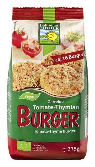 Mix bio pentru burgeri cu cereale, rosii si cimbru, 275g Bohlsener Muhle 0