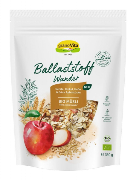 Musli BIO Ballaststoff Wunder, 350 g Granovita [0]