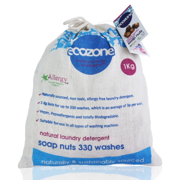 Nuci de sapun bio, 330 de spalari, 1kg 0