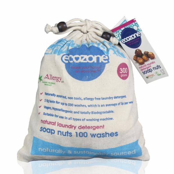 Nuci de sapun bio, 100 de spalari, 300 g 0