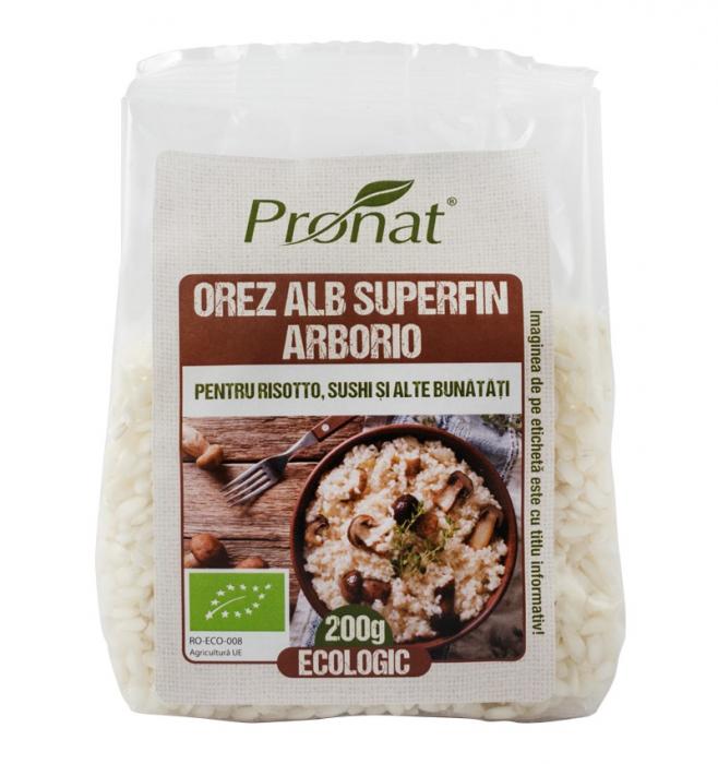 Orez alb superfin arborio, pentru risotto, sushi si altele 200G [0]