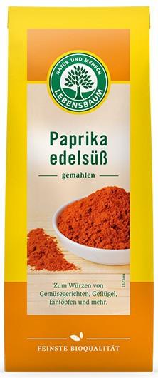 Paprika dulce BIO - pulbere, 50g LEBENSBAUM [0]