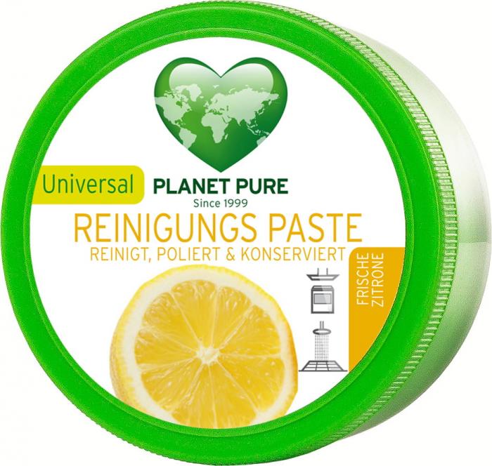 Pasta bio de curatat universala - citrus - 300g Planet Pure 0