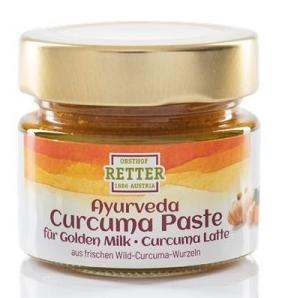 Pasta de curcuma (turmeric) bio, Retter, 100g, pentru Golden Milk 0