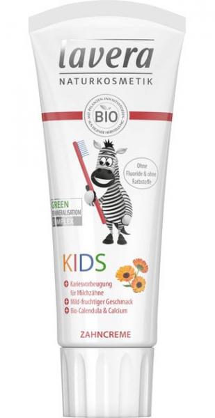 Pasta de dinti BIO pentru copii, 75 ml Lavera 0