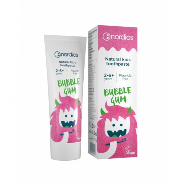 Pasta de dinti bubble gum pentru copii 0