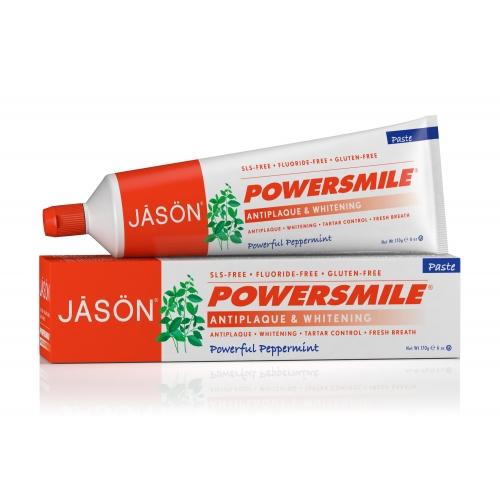 Pasta de dinti Power Smile, fara fluor, pentru albirea dintilor, 170 g 0