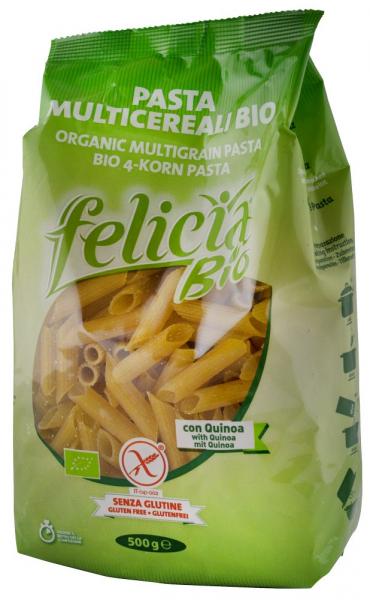 Paste Bio muticereale fara gluten cu quinoa, 500G Felicia 0