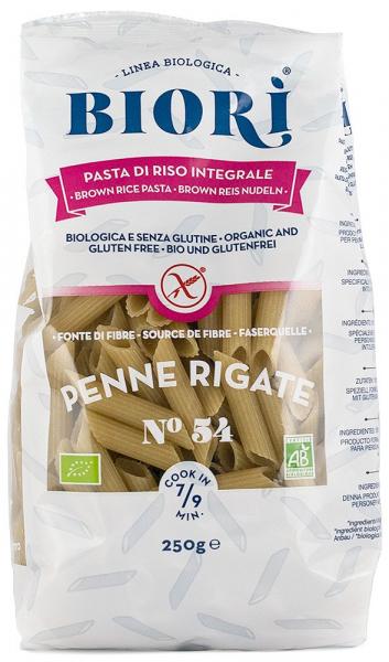 Penne Rigate bio din faina de orez integral, 250 G Biori [0]