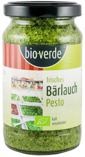 Pesto bio cu leurda, 165g BIO VERDE 0