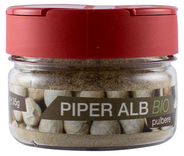 Piper alb Bio pulbere , 35 g [0]