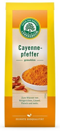 Piper Cayenne bio, 50 g LEBENSBAUM 0
