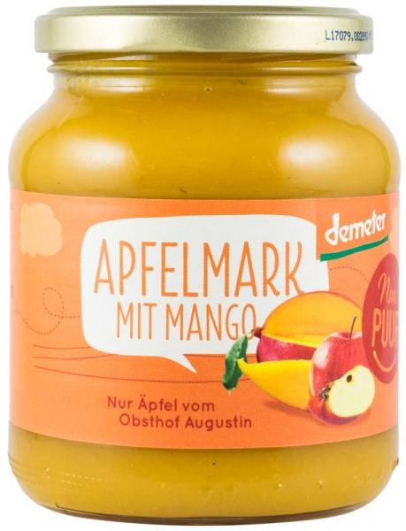 Piure bio de mere cu mango, 360 g Nur PUUR [0]
