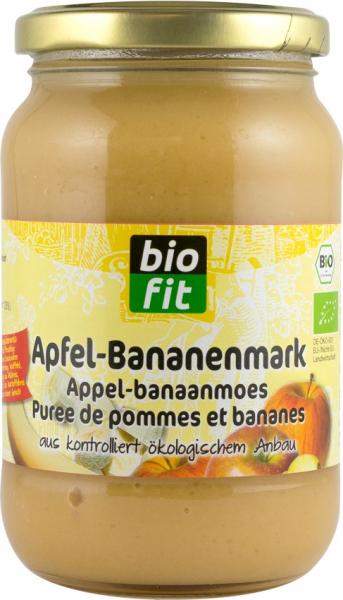 Piure de mere cu banane, BIO 360gr Bio Fit [0]