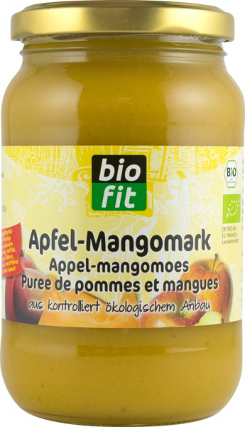 Piure de mere cu mango, BIO 360gr Bio Fit 0