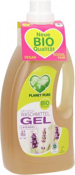 Detergent GEL bio de rufe - lavanda - 1.5L Planet Pure [0]