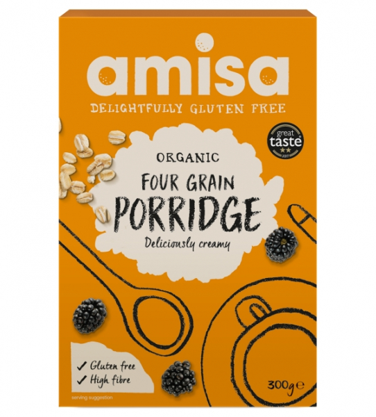 Porridge din 4 cereale fara gluten bio 300g 0