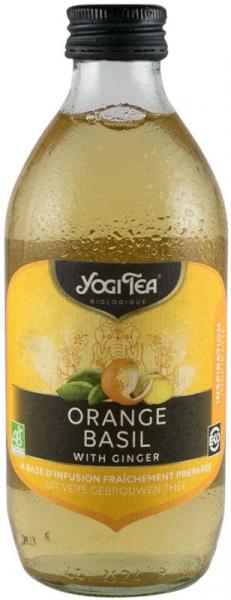 Preparat BIO din ceai de portocale si busuioc cu ghimbir, 330 ml Yogi Tea [0]