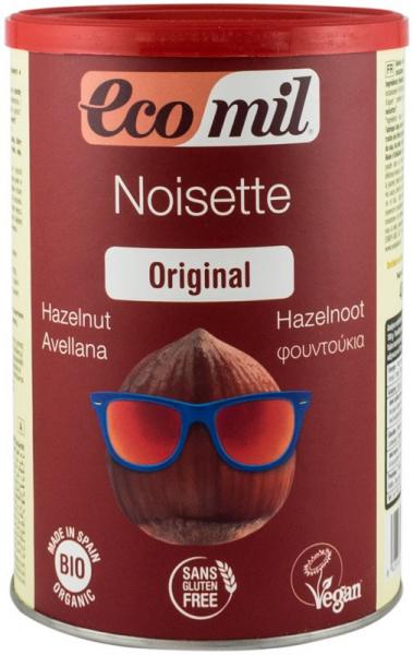 Pudra bio instant pentru bautura de alune - original, 400 G Ecomil 0