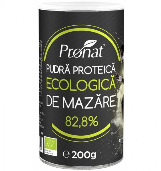 Pudra proteica BIO de mazare, 200g 0