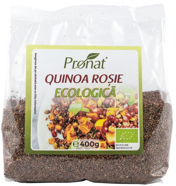 Quinoa rosie Bio, 400 g 0