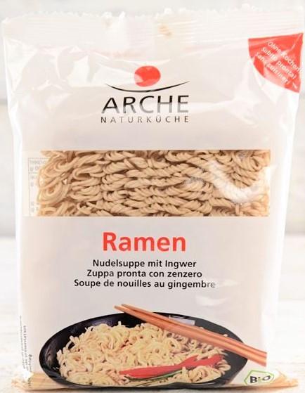 Ramen - Supa bio de taitei cu ghimbir, 108 g Arche [0]