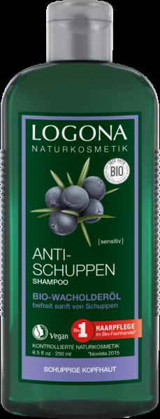 Sampon bio antimatreata cu ulei de ienupar, 250 ml Logona 0
