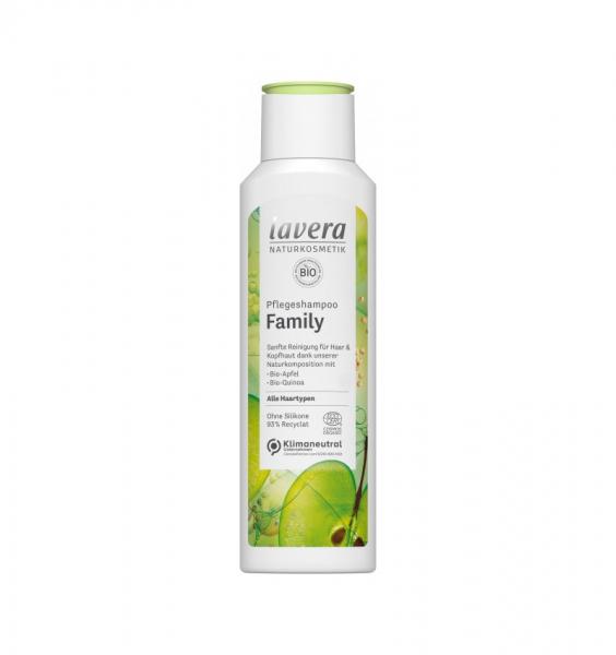 Sampon bio pentru ingrijire family, 250 ml LAVERA 0