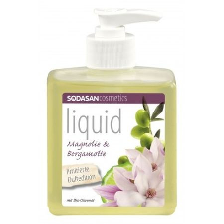 Sapun lichid bio/Gel de dus Magnolie Bergamot 300 ml 0