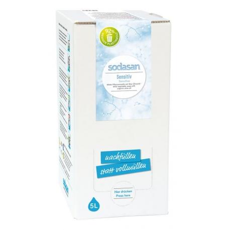 Sapun Lichid/Gel De Dus Bio Sensitiv 5 L 0