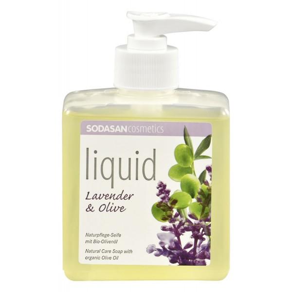 Sapun lichid/gel de dus ecologic Lavanda - Masline 300ml 0