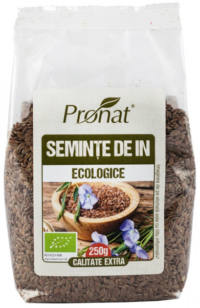 Seminte de in Bio, 250g [0]