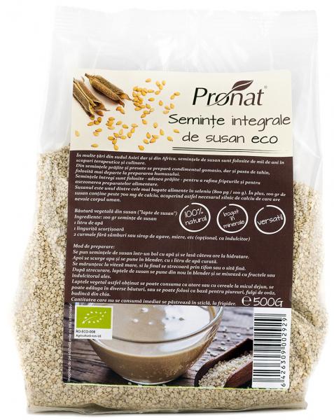 Seminte de susan integral Bio, 500 g 0