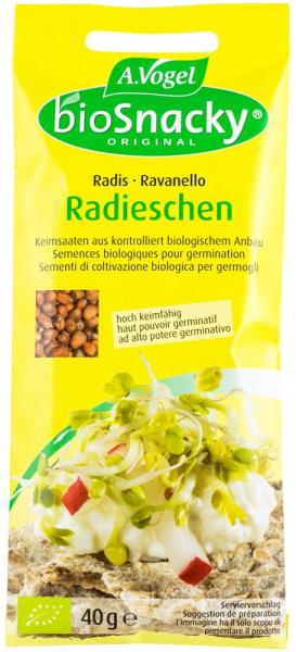 Seminte (germeni) BIO de ridichi, 40g A. Vogel 0