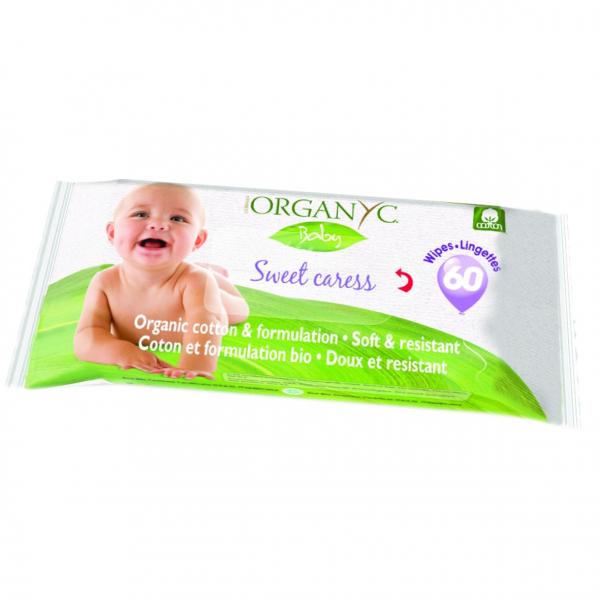 Servetele umede Baby 60 buc. Organyc 0