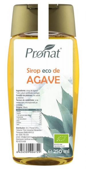 Sirop Bio de agave, 250 ml [0]