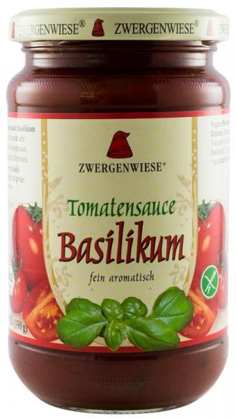 Sos BIO de rosii Basilikum - 340 g ZWERGENWIESE 0