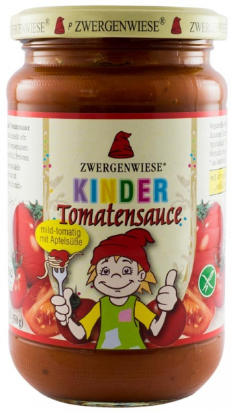 Sos BIO de rosii cu mere pentru copii - 340 g ZWERGENWIESE 0