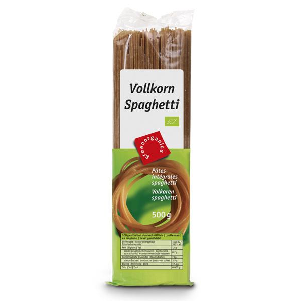 Spaghete Bio din gris integral, 500 g GREEN ORGANICS 0
