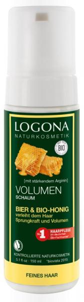 Spuma bio de par pentru volum, 150 ml Logona 0