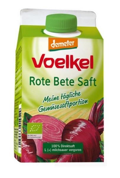 Suc BIO de sfecla rosie lactofermentat, 0,5 l VOELKEL [0]