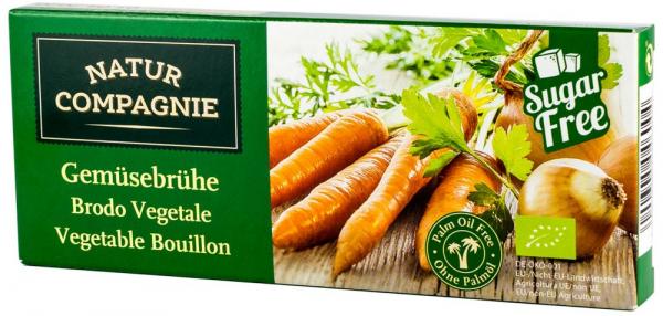 Supa bio concentrata de legume, 12 cuburi NATUR COMPAGNIE 0