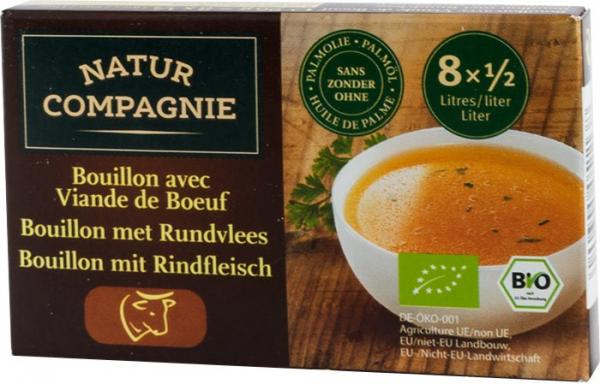 Supa bio cu carne de vita, 96 g NATUR COMPAGNIE 0